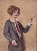 Margot Peet - Self Portrait ca. 1921